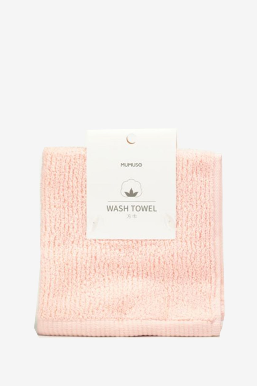 Wash Towel, Pink