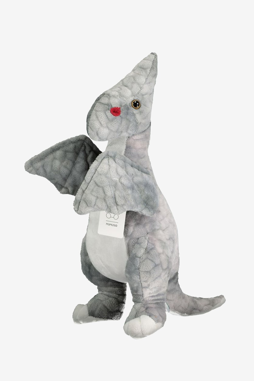 Plush Toy-Pterosaur, Grey