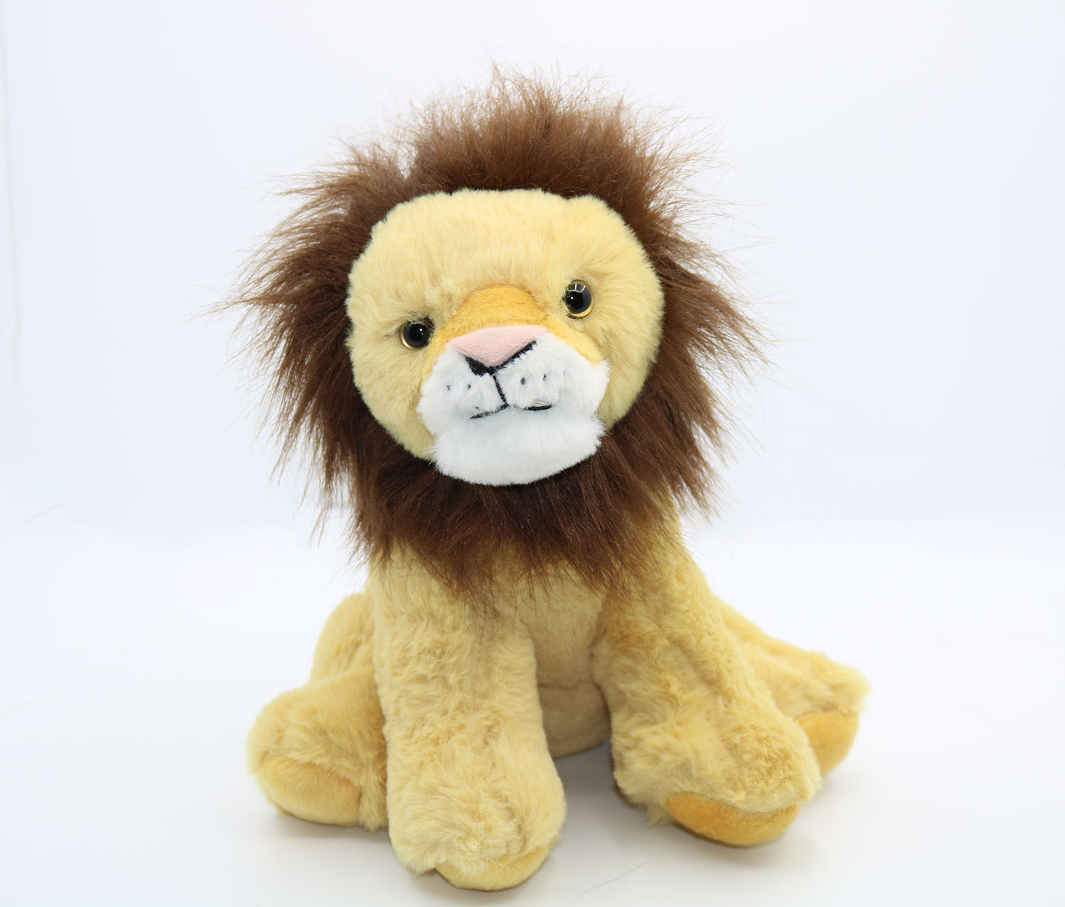 Plush Toy-Lion, Tan/Brown
