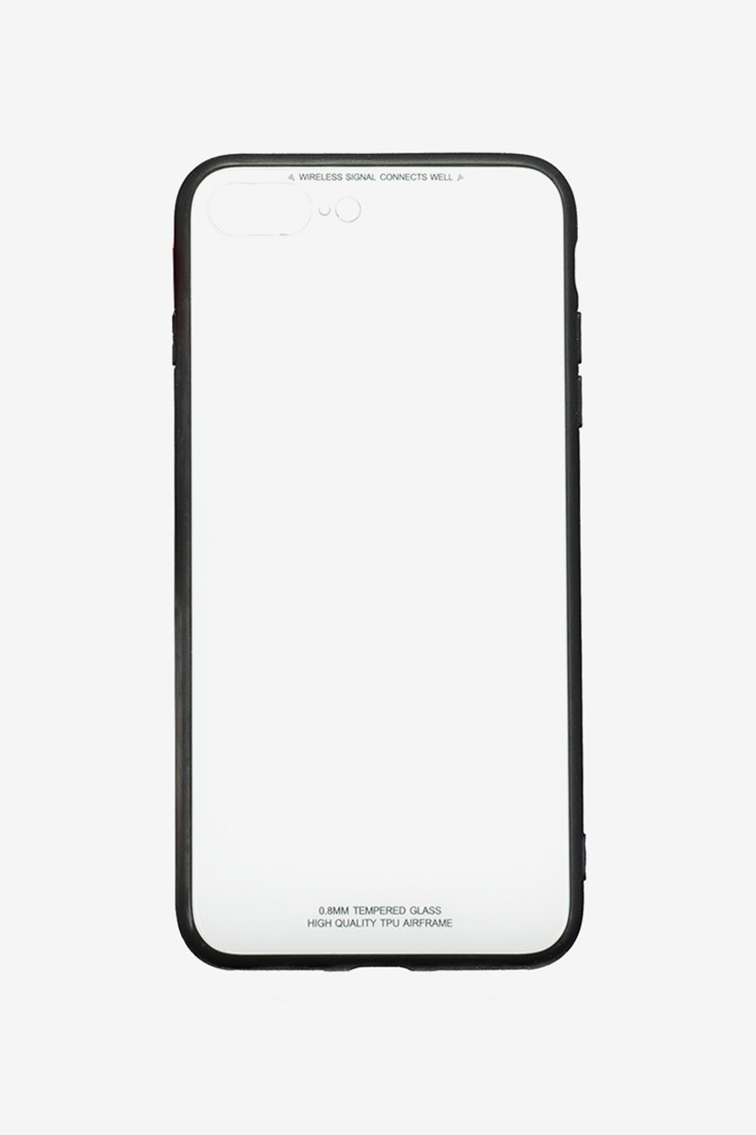 IPhone 7/8 Plus Tempered Glass Phone Covere, White