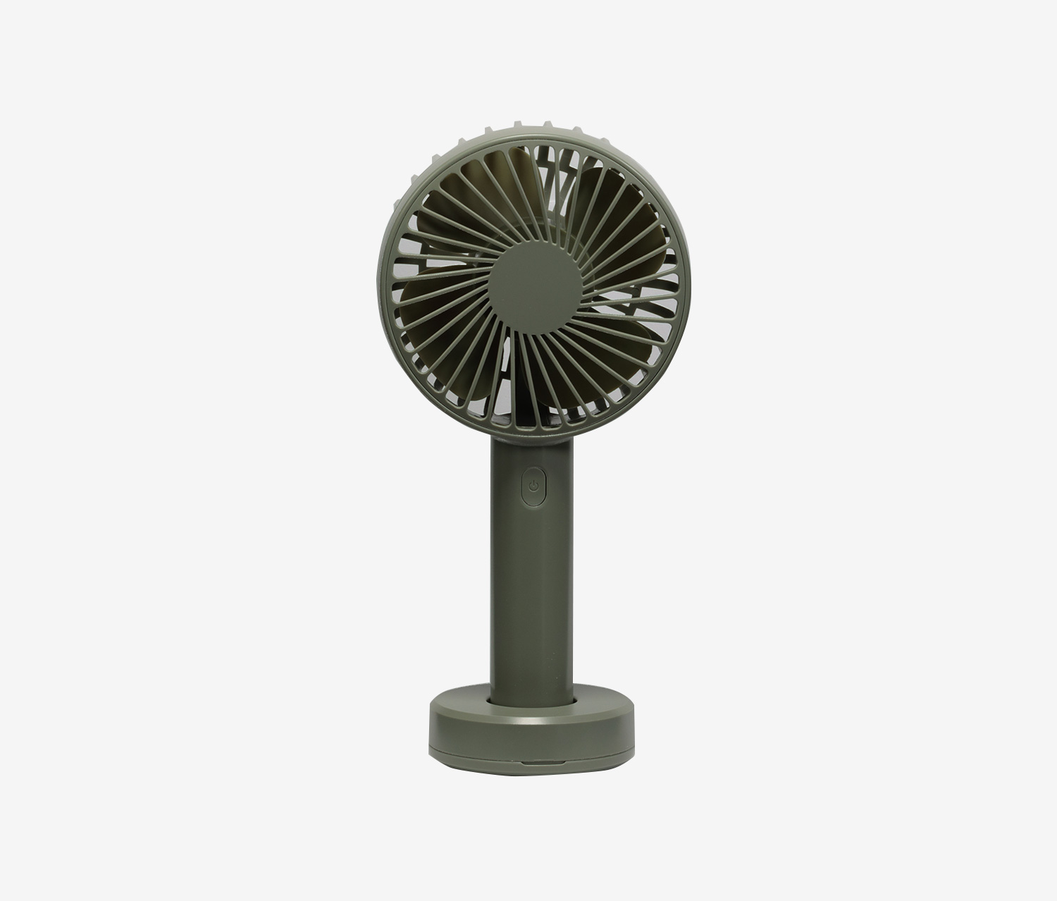 Handheld Desktop Fan, Green