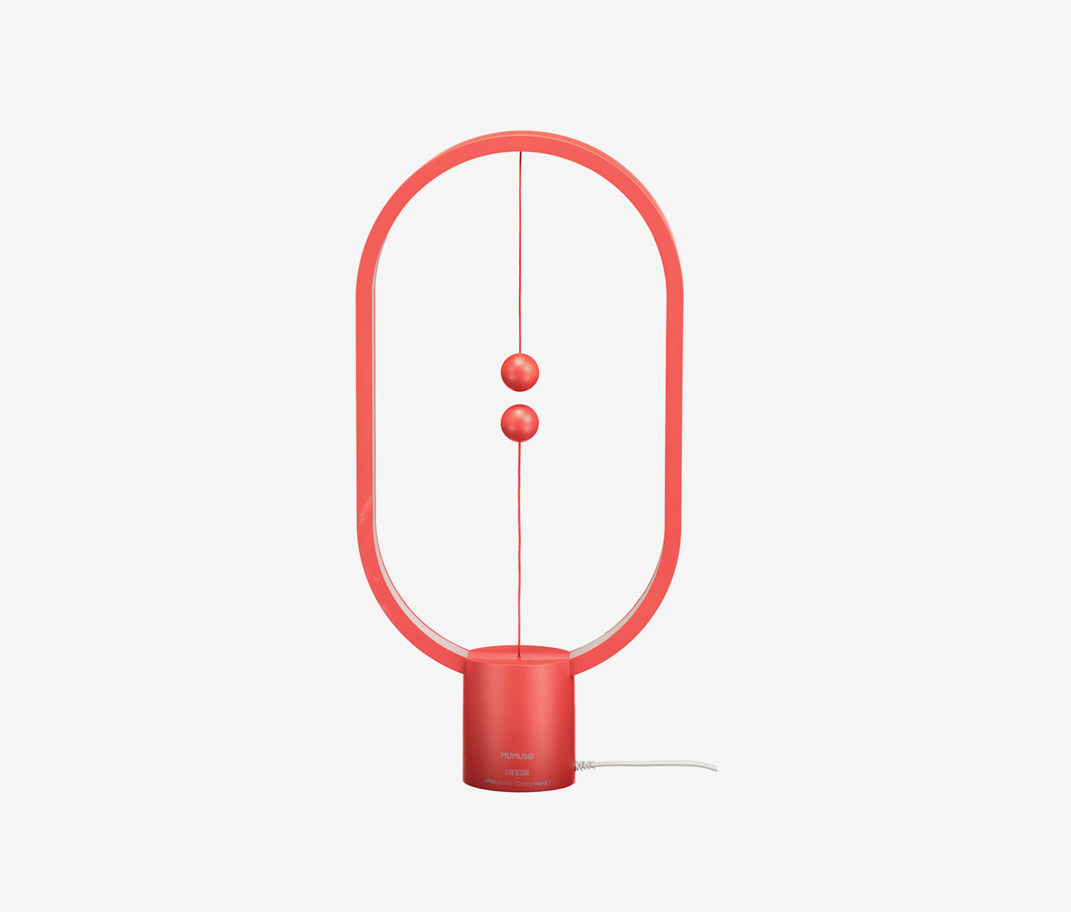 Heng Balance Lamp, Red