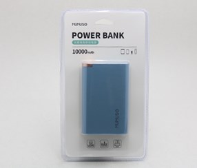 Power Bank- 10000mAh, Blue