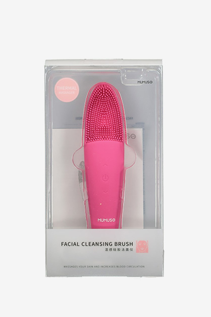Facial Cleansing Brush, Rose Red