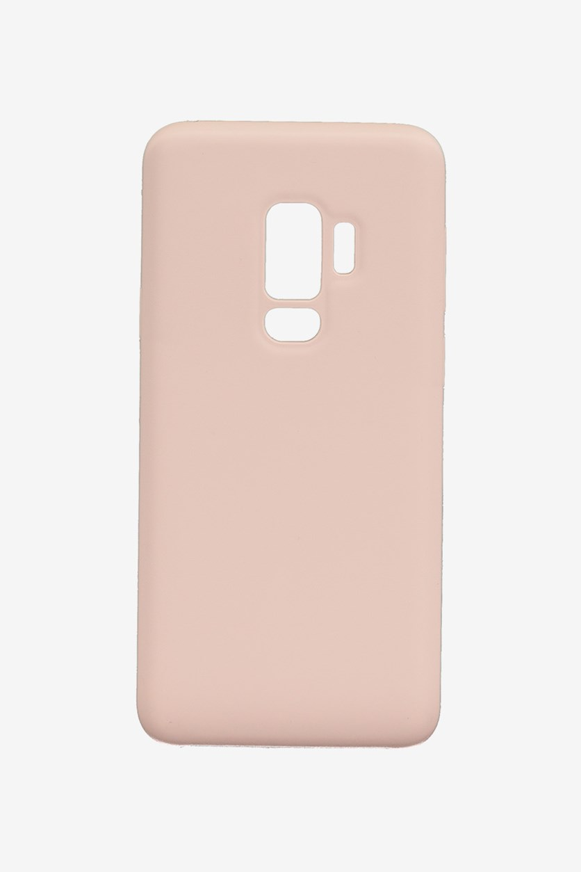 Samsung S9 Plus Silicone Phone Case, Pink