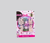 Simba Disney junior Minnie Glow In The Dark Set, White/Pink