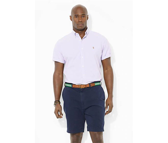 Ralph Lauren Men's Big & Tall Classic-Fit Chino Shorts, Navy