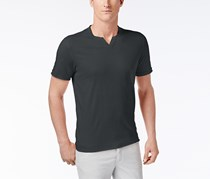 I-N-C Men's Soft Touch Basic T-Shirt, Dark Slate