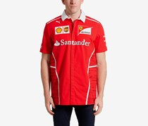 Puma Men's Ferrari Team Shirt, Red Combo