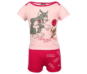 Puma Girl's Tom & Jerry Set, Pink