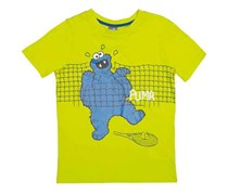 Puma Boy's Apparel Sesame Street, Green