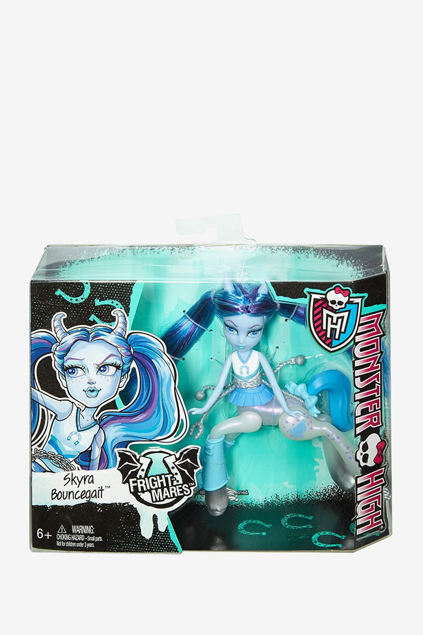 Fright-Mares Skyra Bouncegait Doll, Blue