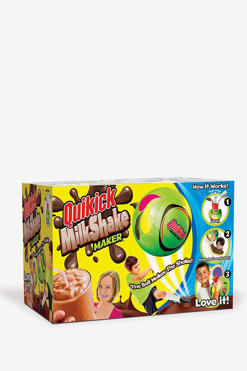 Big Time Toys Quick Kick Milkshake Maker Toys, Green Combo