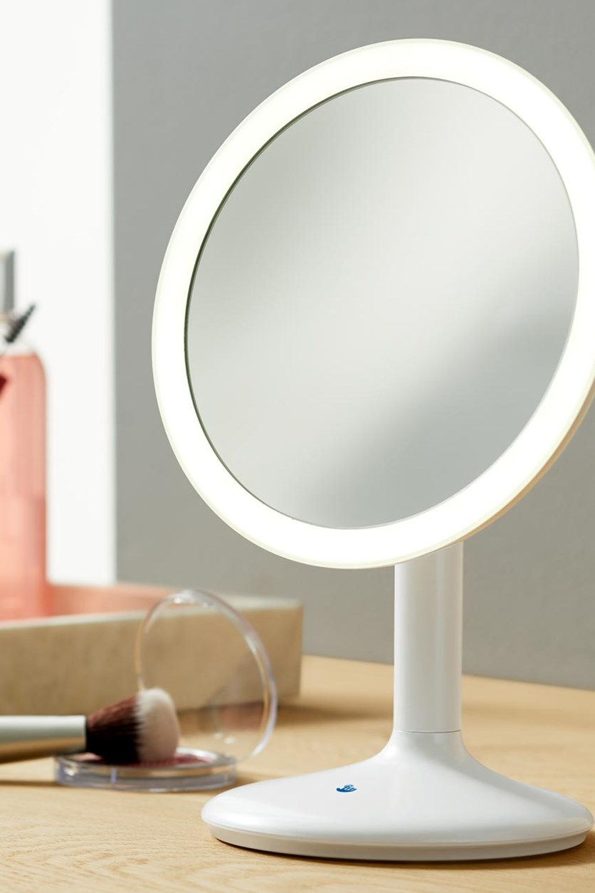 Led Make-Up Mirror, Pearly white