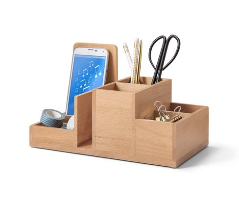 Desk Organizer, Brown