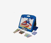 Marvel Travel Art Easel, Blue Combo