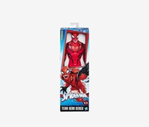Marvel Spider-Man Titan Hero Series Villains Carnage Figure, Red