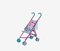 Baby Born Stroller with Bag Doll Accessory, Pink/Blue