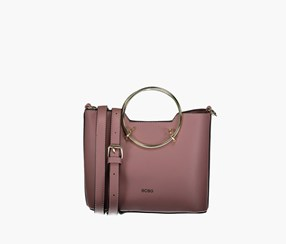 Women Sammie Satchel Bags, Rose Pink