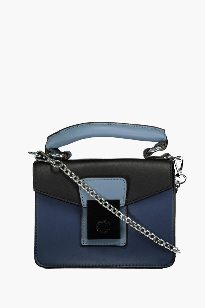 Women Raphaela Shoulder Bags, Navy/Black/Blue