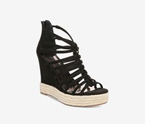 Carlos by Carlos Santana Camilla Wedge Sandals, Black