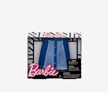 Barbie Two Tone Denim Skirt Fashion, Blue Combo
