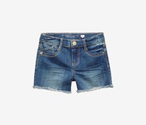 Celebrity Pink Super Soft Color Denim Shorts, Midnight Rain Wash