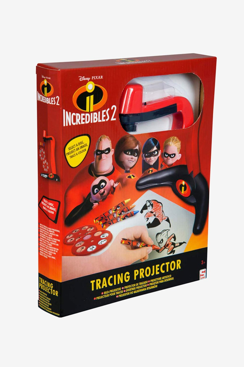 Incredibles 2 Tracing Projector, Red