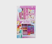 Sambro Disney Princess Art Case 52-Pieces, Pink