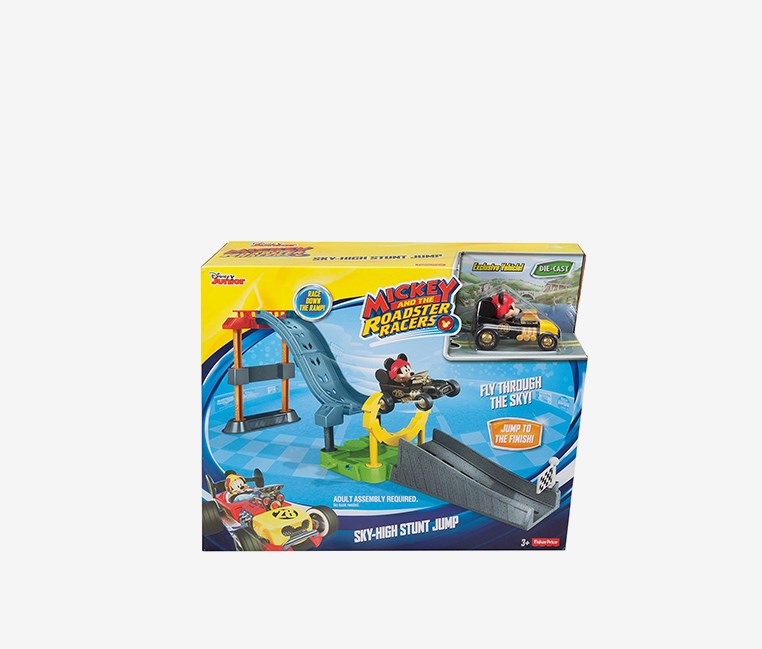 Mickey And The Roadster Racers, Black/Yellow