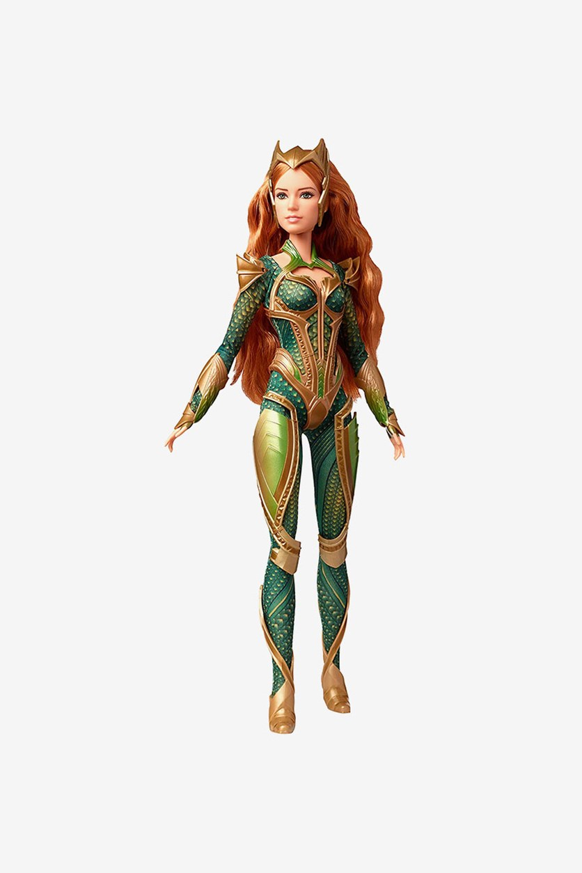 Justice League Mera Figure, Green