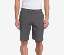 Quiksilver Men's Union Heather Amphibian Hybrid Shorts, Chracoal