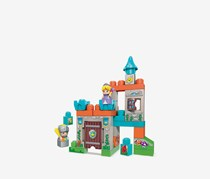 Mega Bloks Storytelling Spin N' Play Royal Castle, Blue/Grey/Orange
