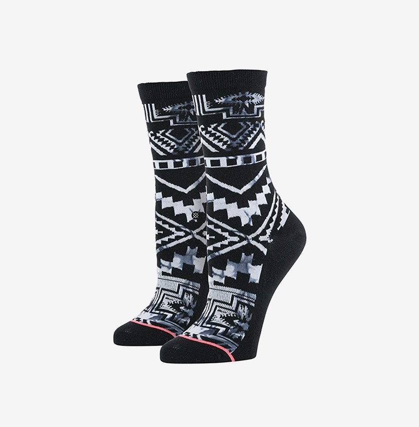 Girls Crawler Socks, Black