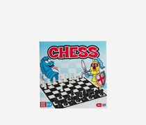 Chess Board Game, Red/Blue/Black Combo