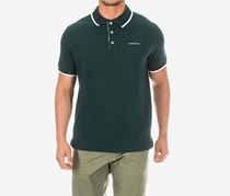 Hackett Men's Cotton Pique Polo, Dark Green
