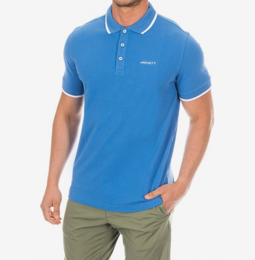 Men's Cotton Pique Polo, Yonder