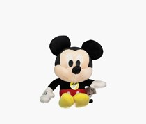 Mickey Plush With Sounds, Red/Black Combo