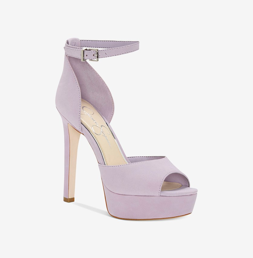 Women's Beeya Two-Piece Platform Sandals, Lavender