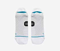 Stance Men's Running Socks, White