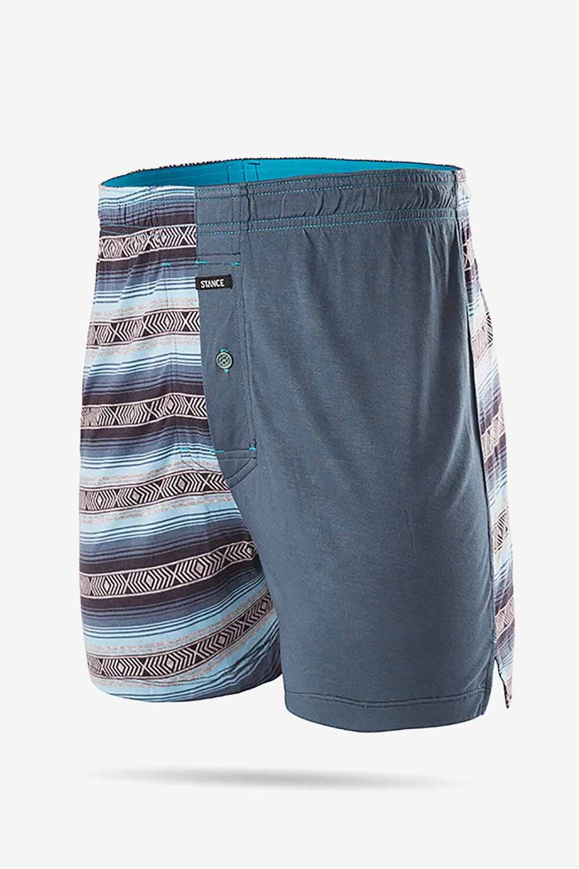 Men's Calexico Knit Boxer, Blue Combo