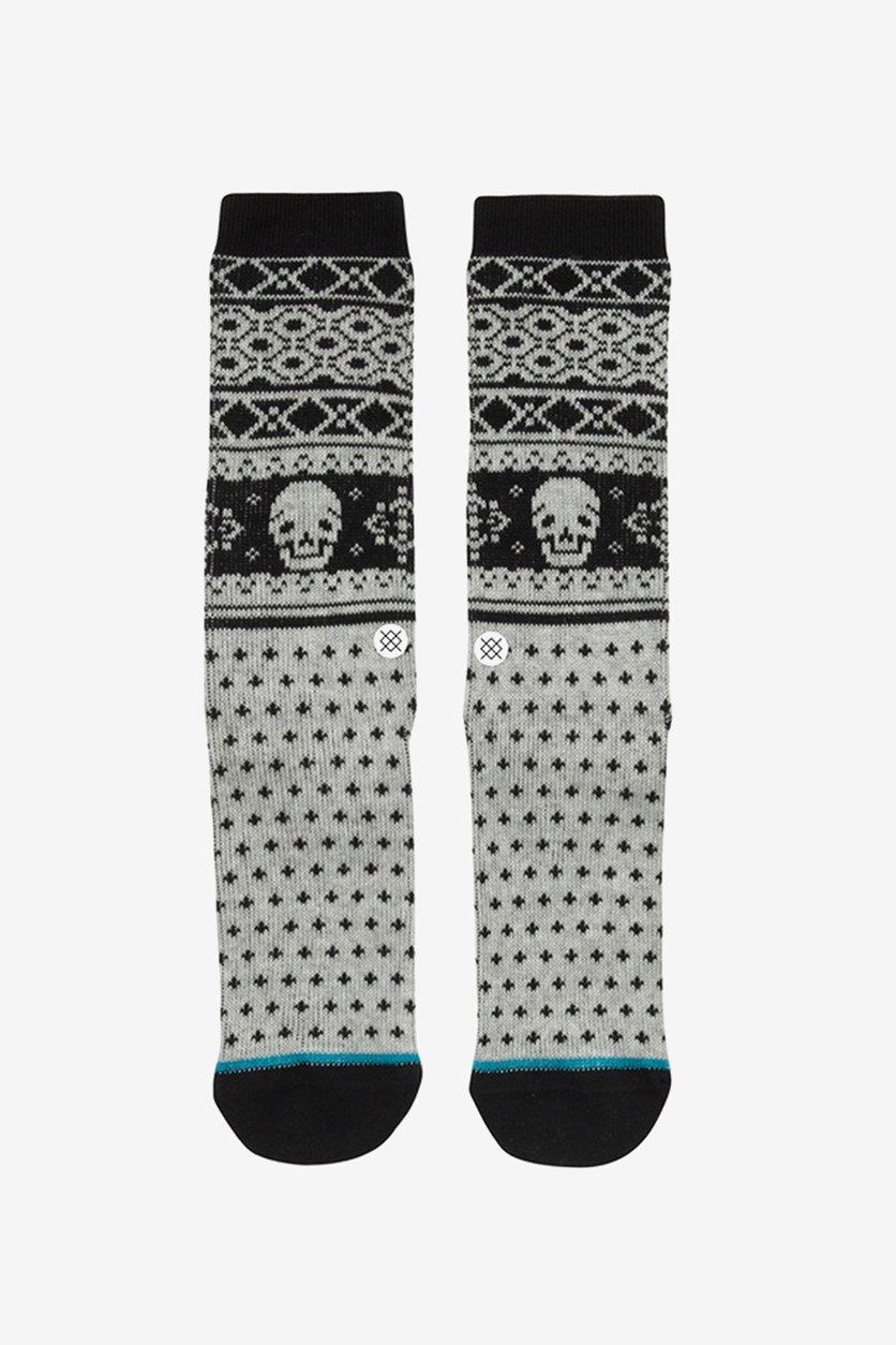 Women's  Breadman Socks, Black/Gray