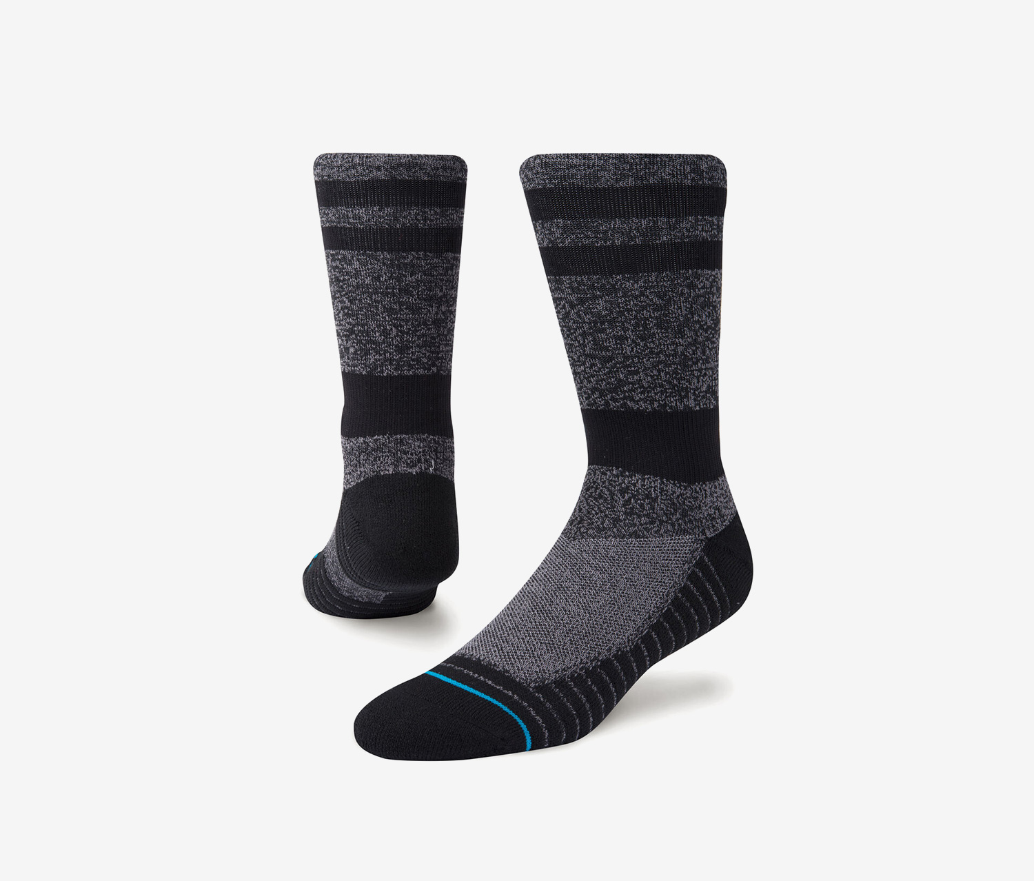 Men's Training Crew Socks, Black