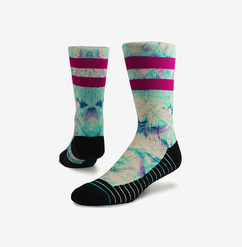 Ultraviolet Socks, Black Combo