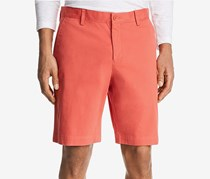 The Men's Store Twill Shorts, Orange Red