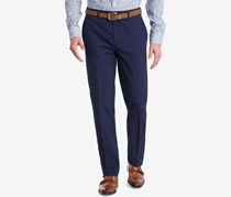 Bar III Mens Slim-Fit Active Stretch, Navy Blue