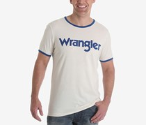 Wrangler Men's Retro Kabel Logo Graphic T-Shirt, White