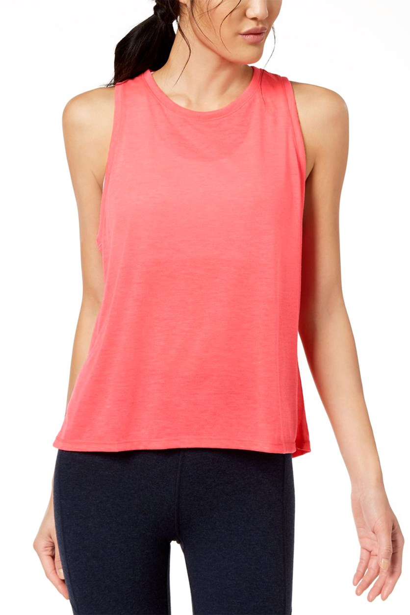 Performance Epic Knit High-Low Tank Top, Alz
