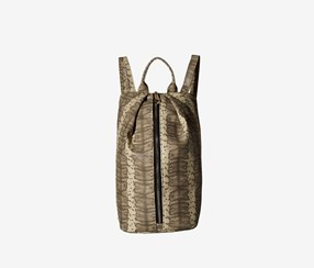 Rampage Wild Snake North South Backpack, Natural