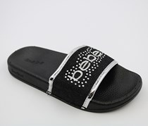 Bebe Girl's Slippers, Black